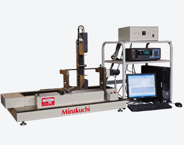 CNCゴムロール外形・振れ測定装置について